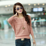 Sweater Moderno Fashion nas Mangas Soltas - Rosa