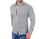 Camisa Fashion Xadrez Casual