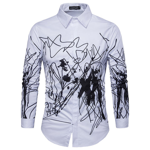 Camisa Jovem Fashion - Urban Art - Branca
