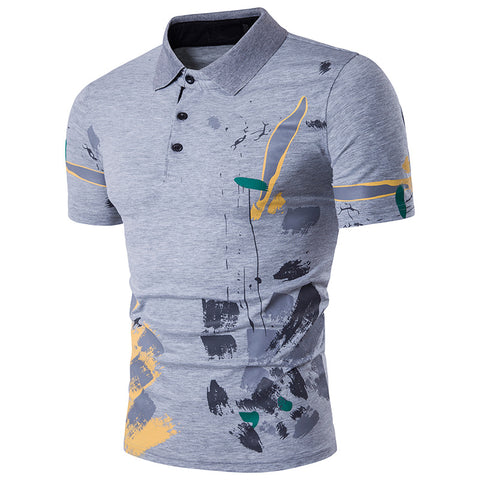 Camisa Polo Jovem - Painting Style - em 4 Cores