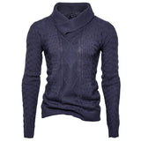 Sweater Tecido Fashion - Gola Alta
