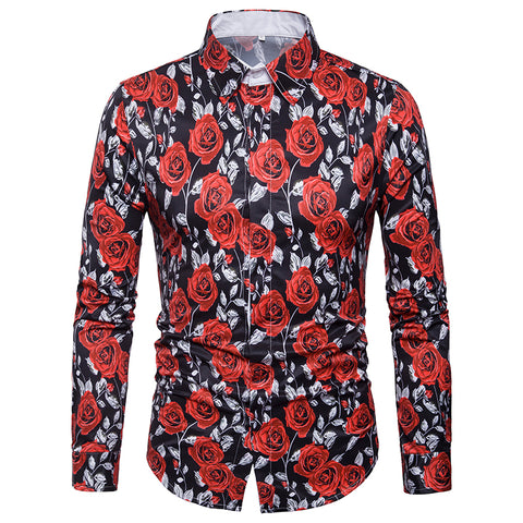 Camisa Floral Estampada Fashion