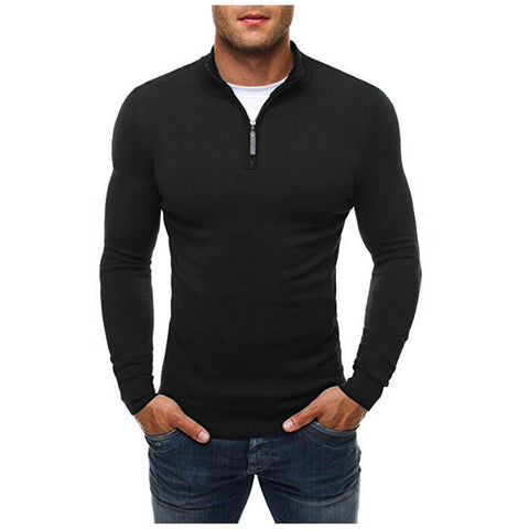 Sweater Slim Fit Clássico - Cores Sólidos