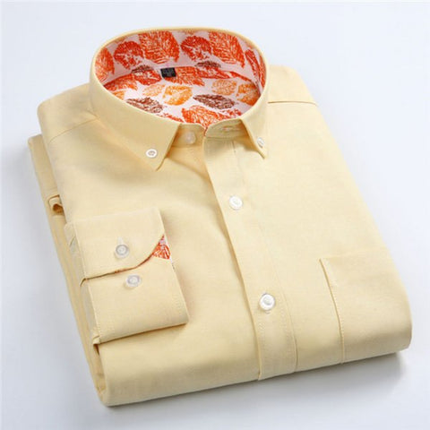 Camisa Fashion em Oxford Casual - Cores Vibrantes