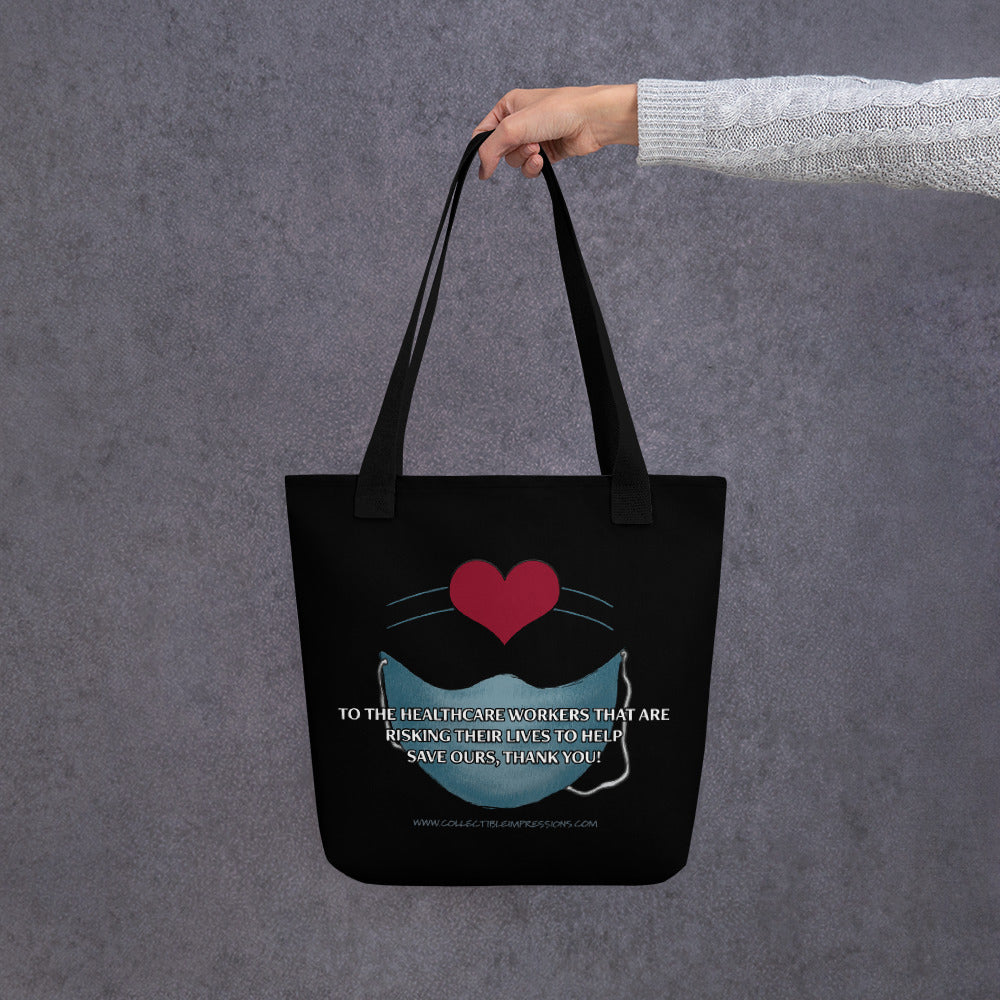"""Thank You Healthcare Workers"" Tote"