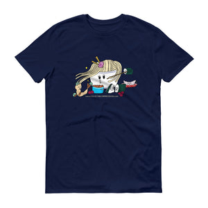 """Ramen Meets Sushi"" Unisex Short-Sleeve T-Shirt"