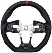 Enhanced Steering Wheel for 2016+ Honda Civic (All Leather)