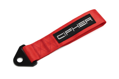 "CPA7000RD CIPHER AUTO RED 2"" TOWING STRAP"