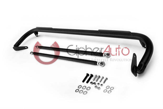 1993-1998 NISSAN SKYLINE R33 CIPHER RACING BLACK UNIVERSAL HARNESS BAR 48""