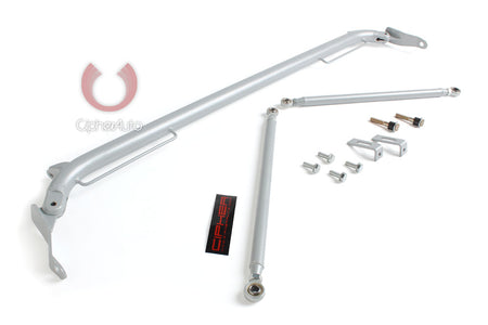 2012-2014 SCION FR-S CIPHER RACING SILVER COATING CUSTOM HARNESS BAR