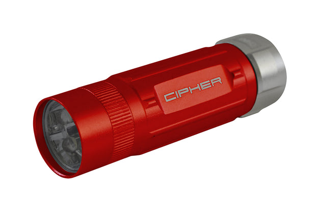 CPA6300RD CIPHER AUTO 70 LUMENS FLASHLIGHT RED