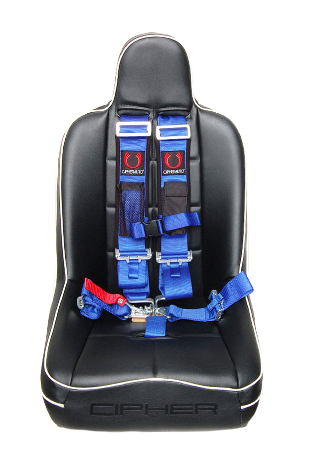 CPA4003BU CIPHER RACING BLUE 5 POINT 3 INCHES RELEASE RACING HARNESS