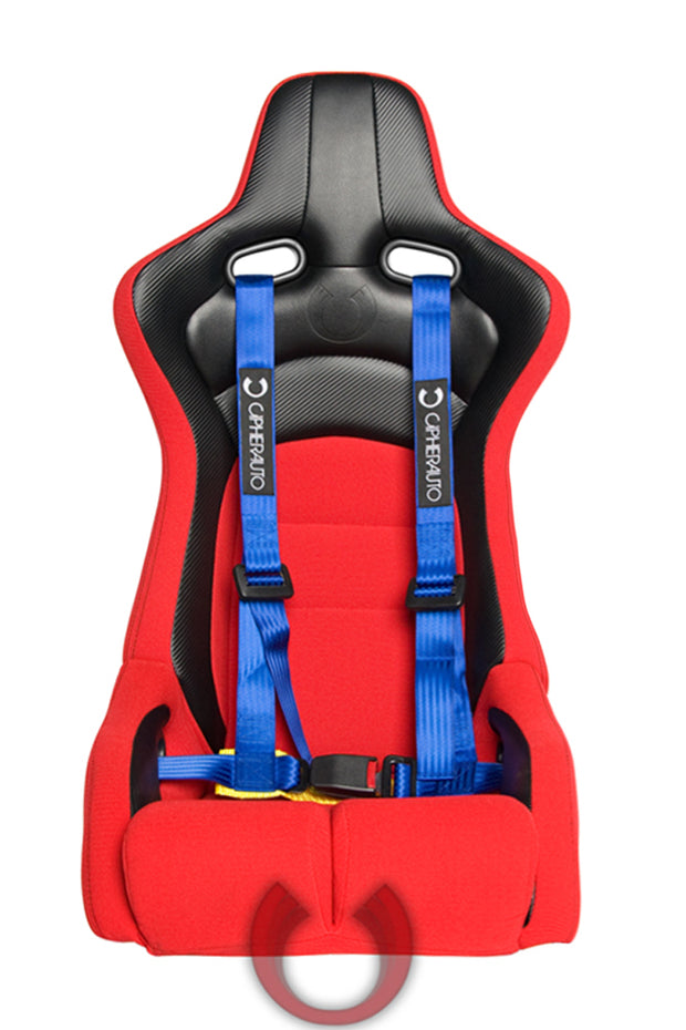 CPA4002BL CIPHER RACING BLUE 4 POINT 2 INCHES RACING HARNESS - PAIR