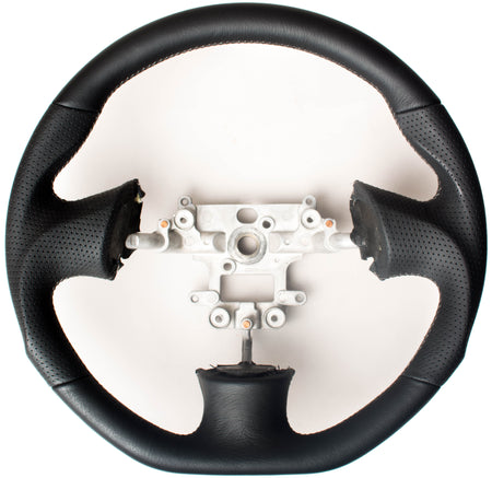 Enhanced Steering Wheel for Mazda Miata NB Leather with Grey Stitching