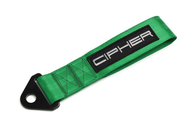 "CPA7000GN CIPHER AUTO GREEN 2"" TOWING STRAP"