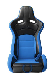 CPA2003 Cipher VP-8 Racing Seats Blue w/ Black Carbon PU - Pair