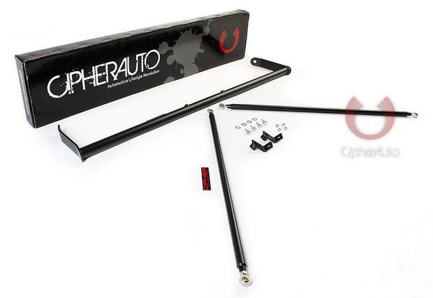 2010-2015 CHEVY CAMARO CIPHER RACING SILVER COATING CUSTOM HARNESS BAR