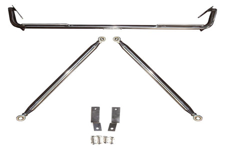 2011-2014 DODGE CHARGER CIPHER RACING POLISHED STAINLESS STEEL CUSTOM HARNESS BAR