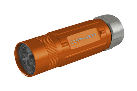 CPA6300OR CIPHER AUTO 70 LUMENS FLASHLIGHT ORANGE