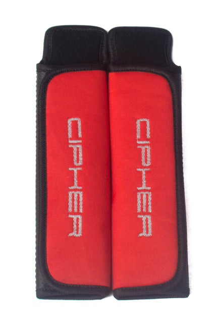 "CPA8000RHP-RD CIPHER AUTO RED HARNESS PADS 2"" INCHES"