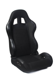 CPA1025 BLACK CLOTH CIPHER AUTO RACING SEATS - PAIR