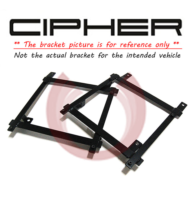 CIPHER AUTO RACING SEAT BRACKET - HONDA CRX