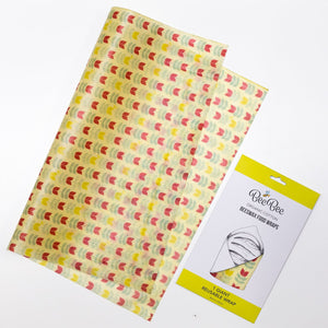 One giant organic cotton beeswax food wrap