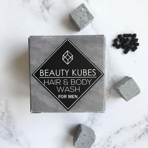 Beauty Kubes Organic Hair and Body Wash for Men