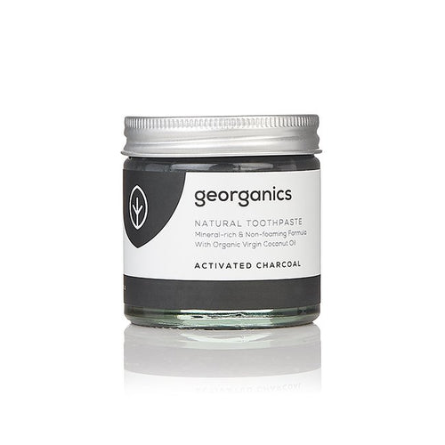 Georganics Natural Mineral-rich Toothpaste - Activated Charcoal
