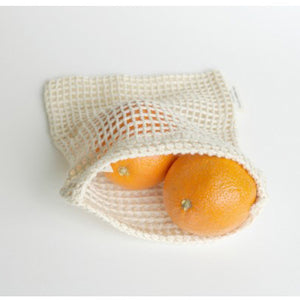 Made Sustained Organic Cotton Fruit & Veg Bag Small