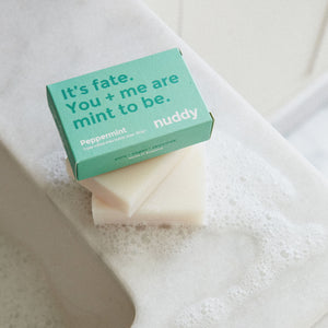 nuddy Soap Bar - Peppermint