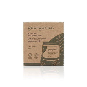 Georganics Natural Mineral-rich Toothpaste - Tea Tree