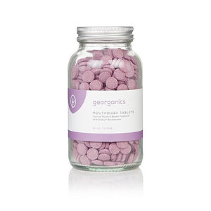 Georganics Mouthwash Tablets - Wild Thyme
