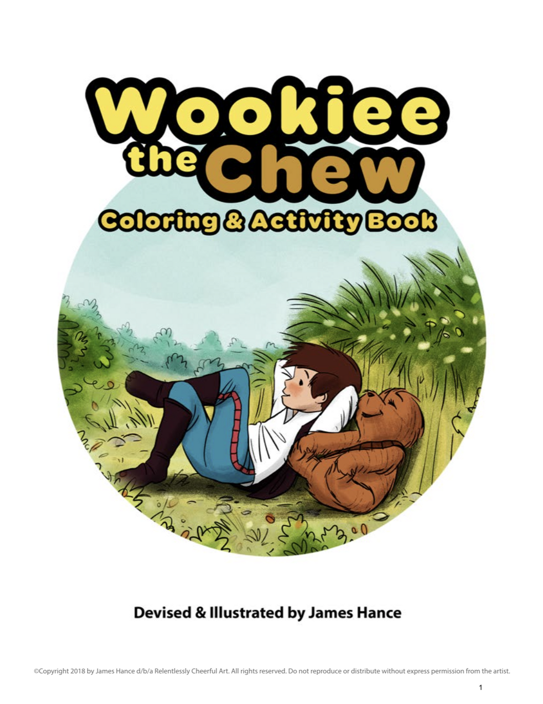 NEW! Wookiee the Chew Activity Book