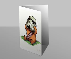 Wookiee the Chew - Oh Bother - Greetings Card