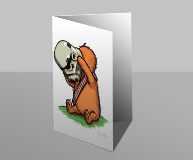 Wookiee the Chew - Elevenses - Greetings Card