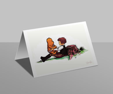 Wookiee the Chew - The Promise - Greetings Card
