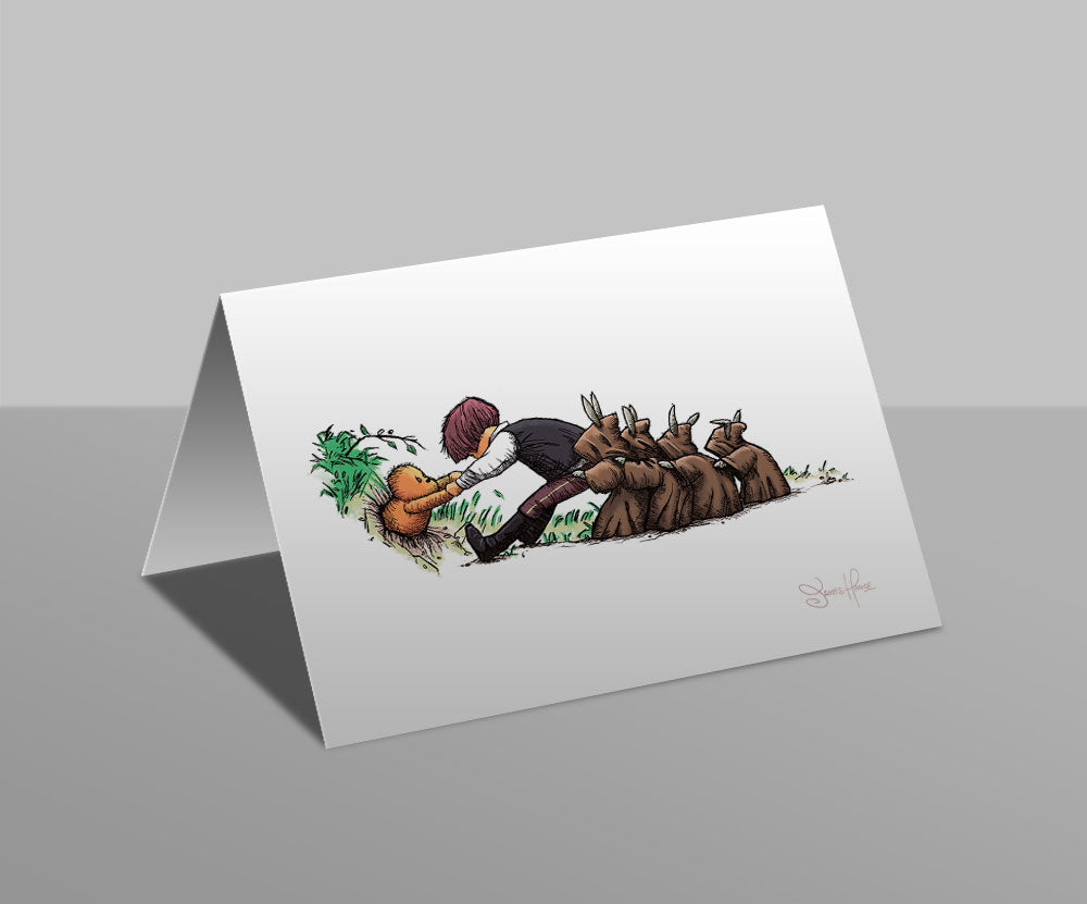 Wookiee the Chew - Back, And In Greater Numbers - Greetings Card