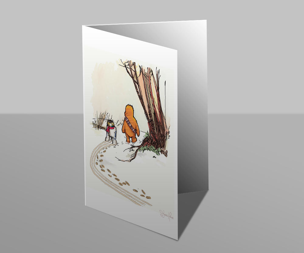 Wookiee the Chew - The Hunt - Greetings Card