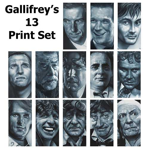 Gallifrey's Thirteen Print Set