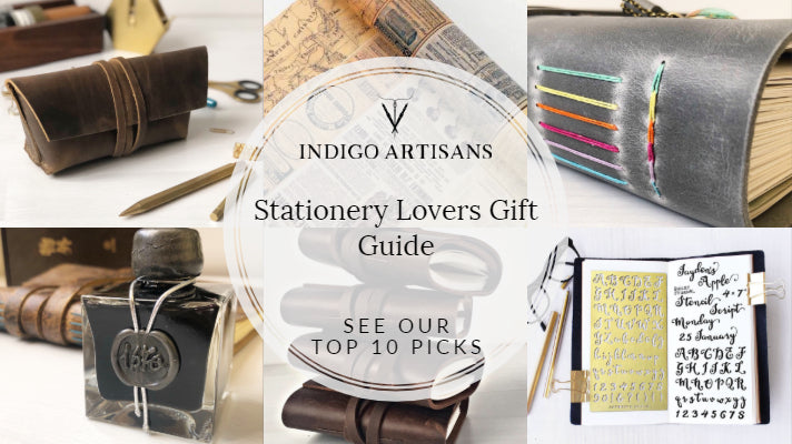 Stationery Lovers Gift Guide - Top 10 for Christmas & Year Round