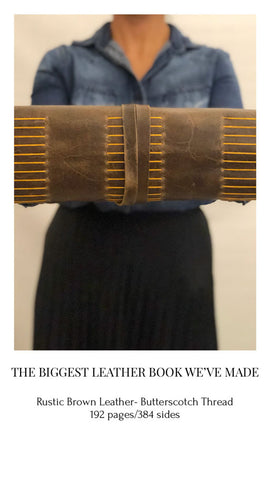 Big leather book