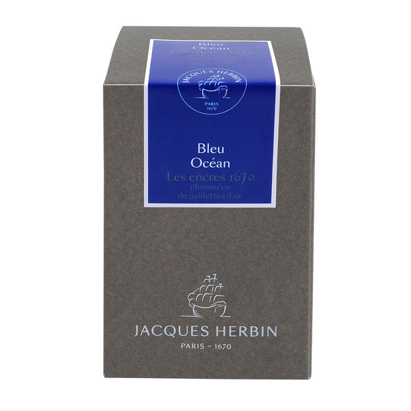 J Herbin 1670 Anniversary Ink | Ocean Blue | 50ml