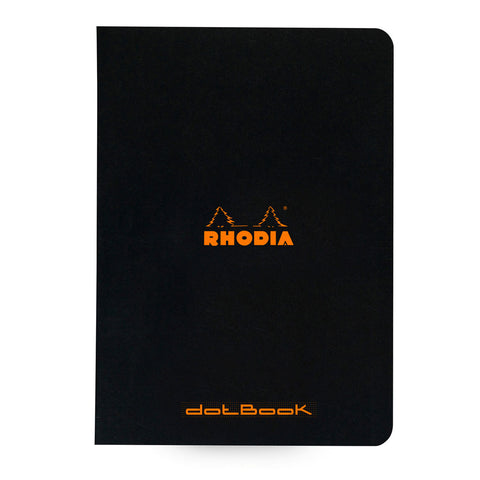 rhodia a5 side stapled dot book