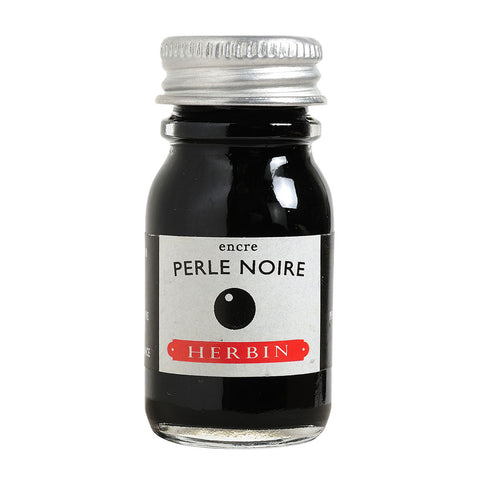 J Herbin Ink 10ml Bottle | Perle Noire