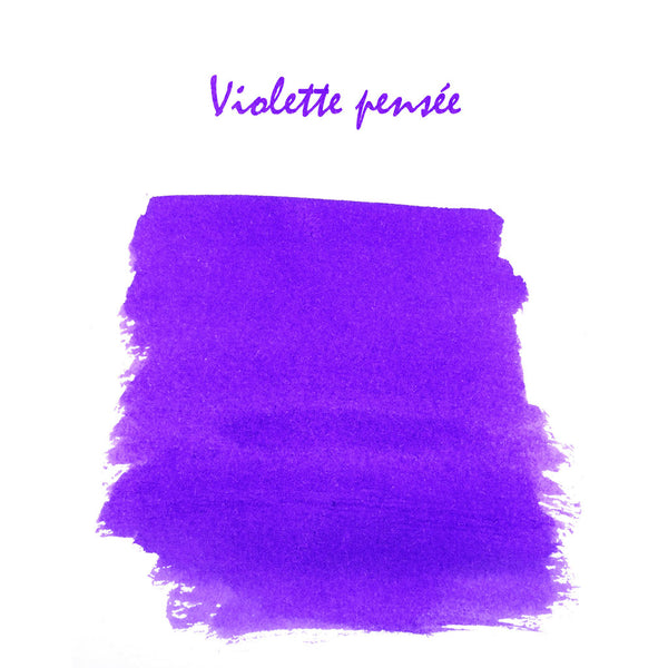J Herbin Ink 10ml Bottle | Violette Pensee