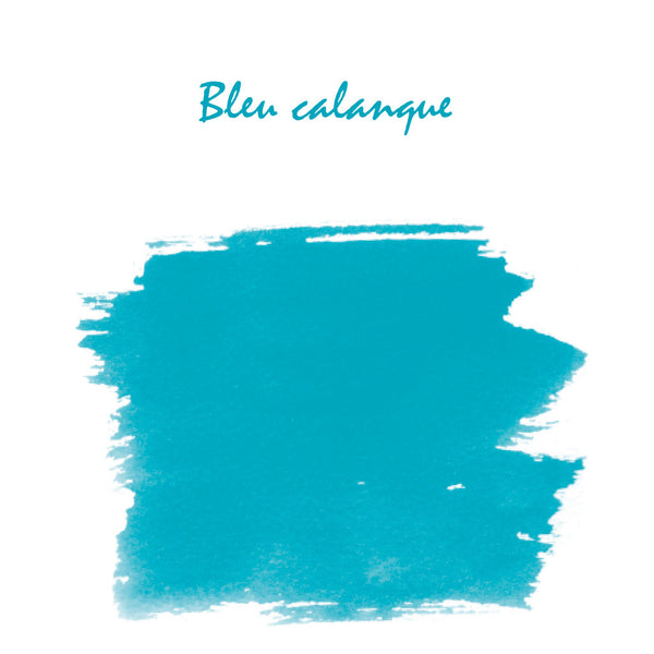 J Herbin Ink 10ml Bottle | Bleu Calanques