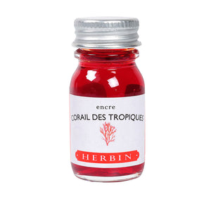J Herbin Ink 10ml Bottle | Corail de Tropiques