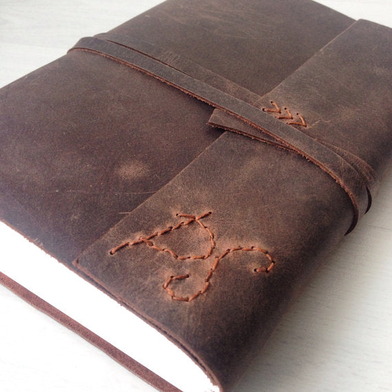 Custom monogram journal