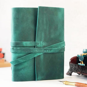 Personalized Leather Journal with Embossed Name